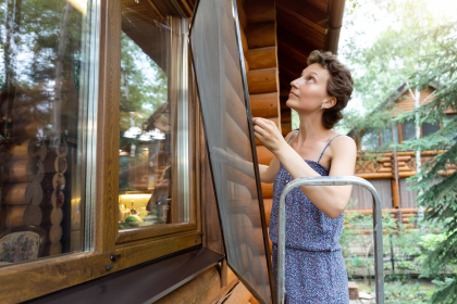 Retractable flyscreens for large openings: A handy solution to keep insects away